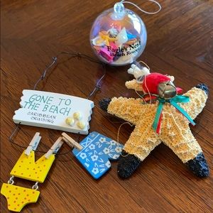 Other - Beachy ornaments